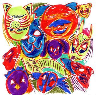 夢の動物マスク
