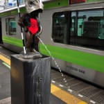 【Tokyo Train Story】浜松町駅ホームの金太郎