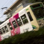 【Tokyo Train Story】流し撮りで躍動感溢れる都電にする