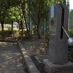 【Tokyo Train Story】少年野球場の防災井戸ポンプと都電荒川線