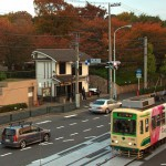【Tokyo Train Story】飛鳥山公園の桜の葉が紅くなる頃