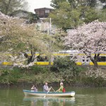 【Tokyo Train Story】皇居の外堀でボート遊び