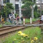 【Tokyo Train Story】日曜日の踏み切りにて