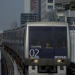 【Tokyo Train Story】ゆりかもめを正面から撮る