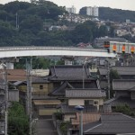 【Tokyo Train Story】多摩都市モノレールと瓦屋根