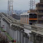 【Tokyo Train Story】多摩モノレール高架下の赤信号