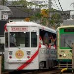 【Tokyo Train Story】都電花電車とすれ違い