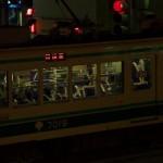 【Tokyo Train Story】都電花電車の前の警備員専用列車