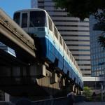 【Tokyo Train Story】頭のすぐ上の東京モノレール