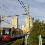 【Tokyo Train Story】空いっぱいの雲(都電荒川線)