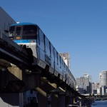 【Tokyo Train Story】寒い冬の午後の東京モノレール