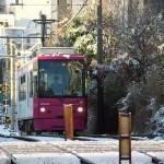 【Tokyo Train Story】雪景色の中の都電荒川線