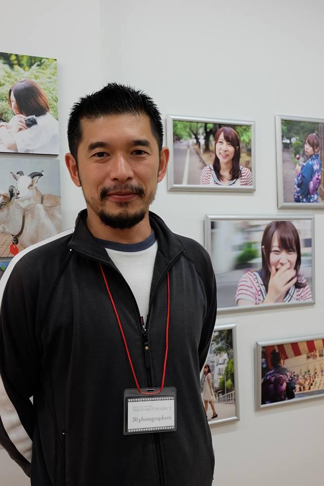 東京シャッターガール写真展にて