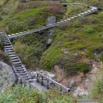 散策路の頂上から万座温泉を見下ろす 群馬県万座温泉の旅 その6