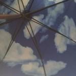 お気に入りの傘を失くしてしまった!というわけで、内側に青空が描かれているMoMAのスカイアンブレラという傘を購入した!
