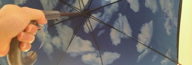 MoMAの青空傘