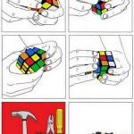 ルービックキューブを6面揃える超裏技