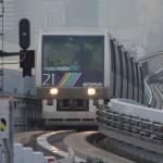 【Tokyo Train Story】ゆりかもめの前面展望席