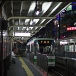 【Tokyo Train Story】夜の町屋駅前電停にて(都電荒川線)