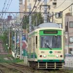 【Tokyo Train Story】雑司ヶ谷付近の起伏がある都電荒川線の風景