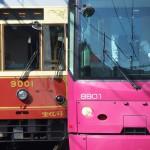 【Tokyo Train Story】ピンクとレトロのすれ違い(都電荒川線)