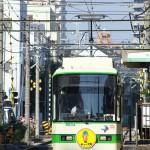 【Tokyo Train Story】キュータ君のヘッドマークが付いた都電荒川線