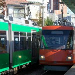 【Tokyo Train Story】オレンジと緑の出会い(東急世田谷線)