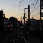 【Tokyo Train Story】東急世田谷線沿線の夕暮れ