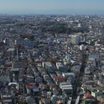 【Tokyo Train Story】三軒茶屋にあるキャロットタワー展望室からの眺め(東急世田谷線)