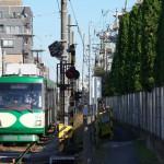 【Tokyo Train Story】緑眩しい小道(東急世田谷線)