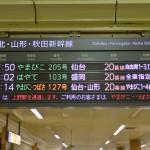 東北新幹線に乗って「行くぜ、東北。」ってことで新花巻に到着! 冬の東北温泉巡りの旅 その1