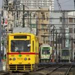 【Tokyo Train Story】都電あかおび号の雄姿