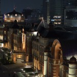 【Tokyo Train Story】KITTEから夜の東京駅を眺める!