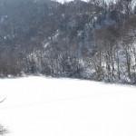 長野県松本市内にある牛伏寺で厄除のお参りをする 冬の岐阜長野温泉巡りの旅 その13