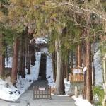 安楽寺の国宝八角三重塔を見学する 冬の岐阜長野温泉巡りの旅 その17