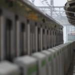 【Tokyo Train Story】大雪の日、山手線同士の接近