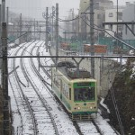 【Tokyo Train Story】雪の坂道(都電荒川線)