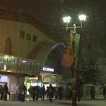 【Tokyo Train Story】雪の日の目白駅