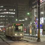 【Tokyo Train Story】雪の日、大塚付近を都電が通る