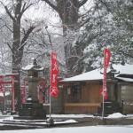 東京雪景色2014 雪の降り始めの雑司が谷と雪がやんだ後の日暮里の風景 その1