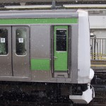 【Tokyo Train Story】雪舞う山手線