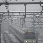 【Tokyo Train Story】雪の中を疾走する山手線