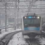 【Tokyo Train Story】雪の日、迫り来る京浜東北線