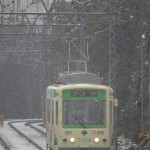 【Tokyo Train Story】雪の中の前照灯(都電荒川線)