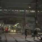 【Tokyo Train Story】雪の日の大塚駅前電停(都電荒川線)