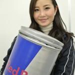 渋谷でRedBullのシュガーフリーバージョンをサンプリングガールの方からもらった!