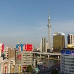 東京スカイツリーを眺めるならここ!浅草寺の雷門前にある浅草文化観光センターの無料展望テラスは最高にお勧め!