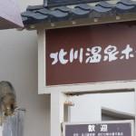 北川温泉ホテルの前で会った2匹のネコがむちゃくちゃかわいかった! 春の伊豆旅行2014 その10