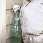 神楽坂の路地裏で発見する井戸ポンプの数々 春の神楽坂路地裏散歩 その2