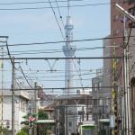 【Tokyo Train Story】夏空に東京スカイツリー(都電荒川線)